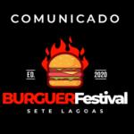 COMUNICADO Importante: Adiamento da data do 1º Burguer Festival Sete Lagoas