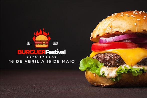 Veja as fotos dos hambúrgueres que irão participar do Burguer Festival Sete Lagoas 2020